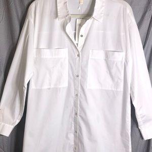 Eileen Fisher: Organic Button Down Tunic
